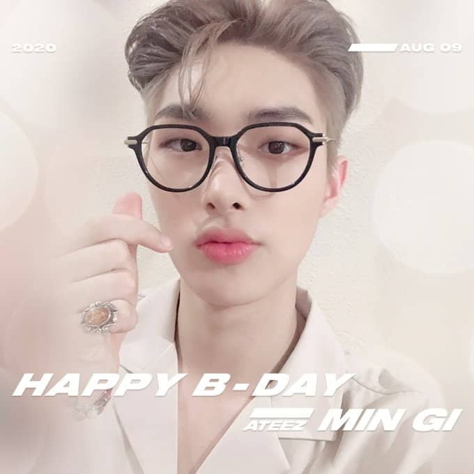 #Happy_Mingipinky_Day: Celebrando Song Mingi de ATEEZ y sus adorables encantos
