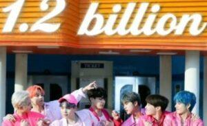 "BTSEl video musical ""Boy With Luv"" logra 1.2 mil millones de reproducciones en YouTube"
