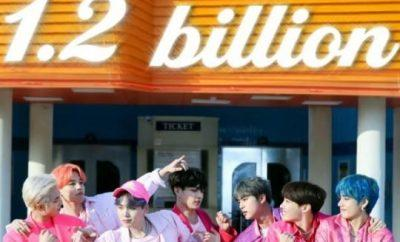 "BTSEl video musical ""Boy With Luv"" logra 12 mil millones"