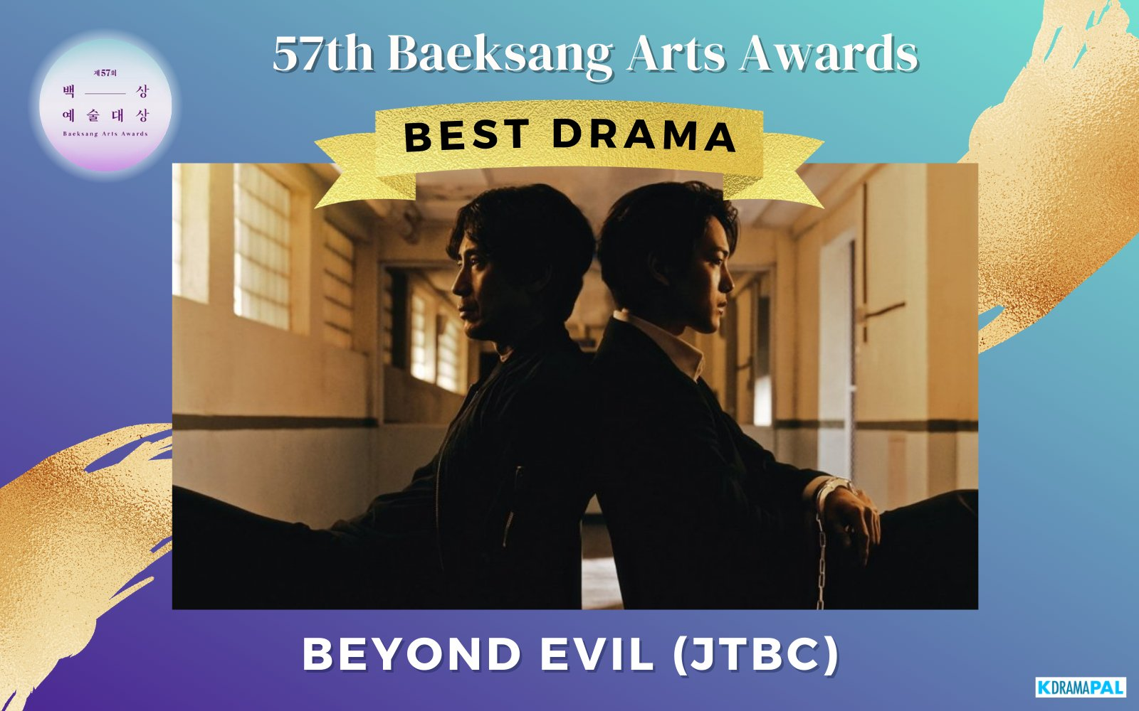 'Beyond Evil' de JTBC gana a lo grande en los 57th Baeksang Arts Awards