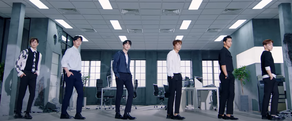 Lecciones de video musical 2PM visualiza un mundo de depresion